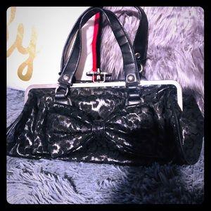 Rock Rebel Bags - Adorable rock rebel bow purse